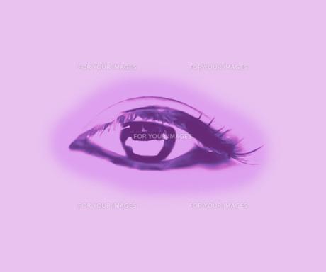 瞳、目の写真素材 [FYI00112170]