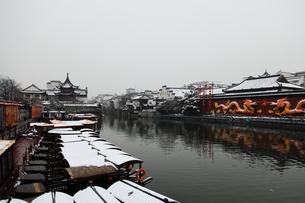 南京 夫子廟の写真素材 [FYI00112174]