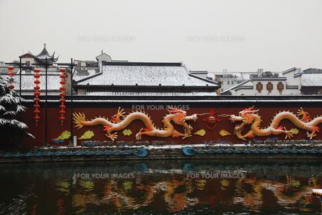 南京 夫子廟の写真素材 [FYI00112185]