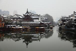 南京 夫子廟の写真素材 [FYI00112190]