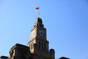 上海時計台の写真素材 [FYI00112194]