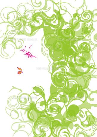 ラインで描いた女性の写真素材 [FYI00112195]