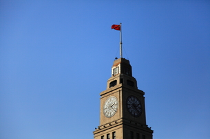 上海時計台の写真素材 [FYI00112202]