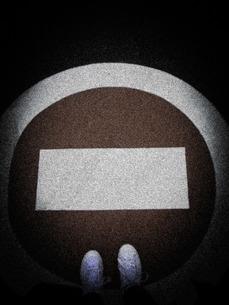 停止標識の写真素材 [FYI00112206]
