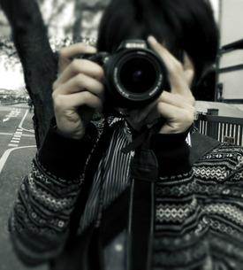 恋するカメラマンの写真素材 [FYI00112239]