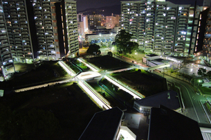 基町高層アパート_02の写真素材 [FYI00112371]