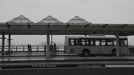 バス終点の写真素材 [FYI00112662]