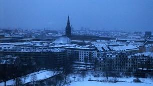 ノルウェーの朝の写真素材 [FYI00112669]