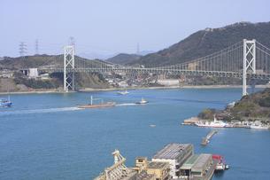 関門海峡の写真素材 [FYI00112820]
