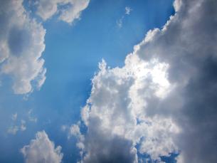 雲と青空の写真素材 [FYI00112932]