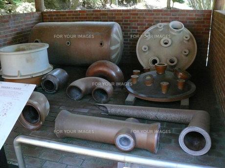 毒ガス工場の工具の写真素材 [FYI00112970]