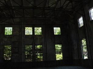 大久野島の廃墟の写真素材 [FYI00112979]