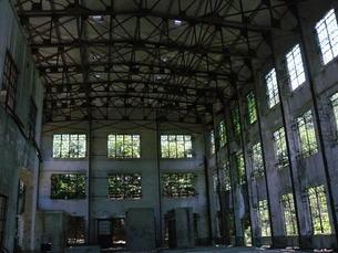 大久野島の廃墟の写真素材 [FYI00112987]