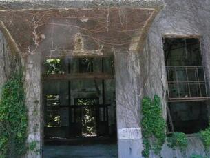 大久野島の廃墟の写真素材 [FYI00112992]