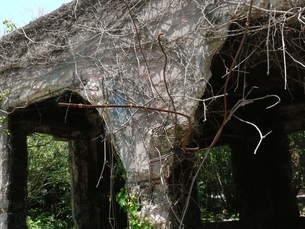 大久野島の廃墟の写真素材 [FYI00112995]