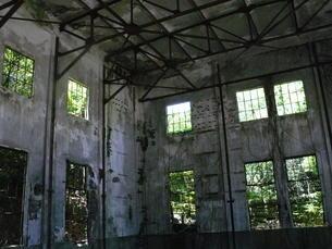 大久野島の廃墟の写真素材 [FYI00112996]