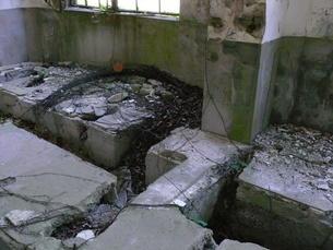 大久野島の廃墟の写真素材 [FYI00113012]