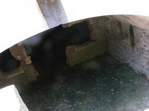 大久野島の廃墟レンガ造りの写真素材 [FYI00113023]