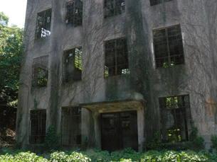 大久野島の廃墟の写真素材 [FYI00113045]