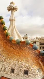 スペイン・バルセロナ カサ・バトリョの写真素材 [FYI00113069]