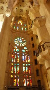 スペイン/バルセロナ サグラダ・ファミリア教会の写真素材 [FYI00113079]