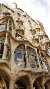 スペイン/バルセロナ カサ・バトリョの写真素材 [FYI00113080]