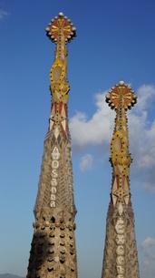 スペイン/バルセロナ サグラダ・ファミリア教会の写真素材 [FYI00113083]
