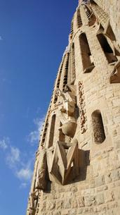 スペイン/バルセロナ サグラダ・ファミリア教会の写真素材 [FYI00113084]