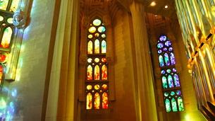 スペイン/バルセロナ サグラダ・ファミリア教会の写真素材 [FYI00113090]