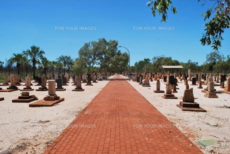 墓地の写真素材 [FYI00113275]