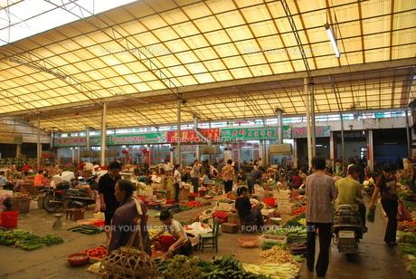 市場の写真素材 [FYI00113343]
