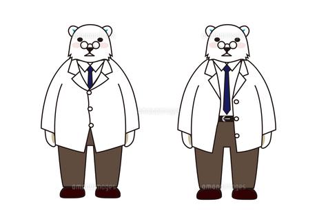 白衣のシロクマの素材 [FYI00113817]