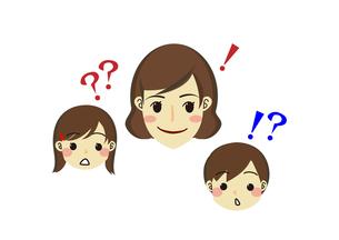 疑問解決の親子の素材 [FYI00113839]