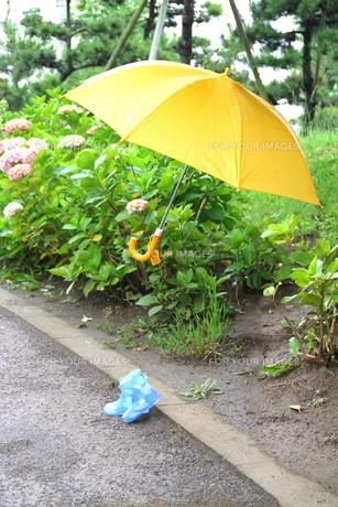 雨降りルンルンの素材 [FYI00113879]