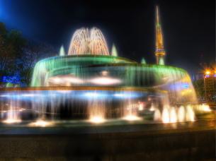 光の噴水の写真素材 [FYI00114054]