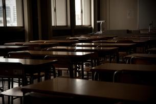 君と過ごした教室の写真素材 [FYI00114092]