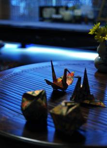 折り鶴の素材 [FYI00114342]