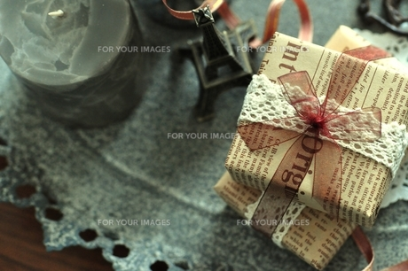 贈り物の写真素材 [FYI00114682]