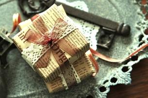贈り物の写真素材 [FYI00114689]