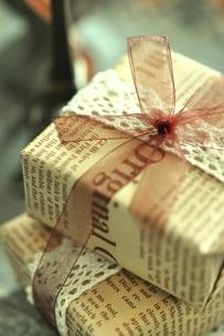 贈り物の写真素材 [FYI00114692]