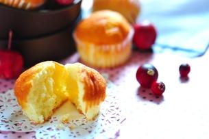 カップケーキの写真素材 [FYI00114776]