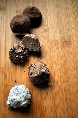 チョコレートの素材 [FYI00114927]