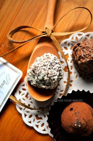 チョコレートの素材 [FYI00114936]