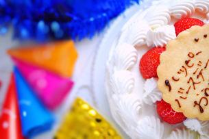 バースデーケーキの写真素材 [FYI00114977]
