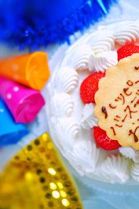 バースデーケーキの写真素材 [FYI00114991]