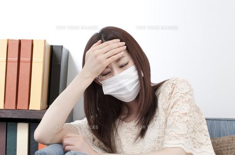 風邪の写真素材 [FYI00115142]