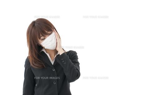 風邪や花粉症の写真素材 [FYI00115164]