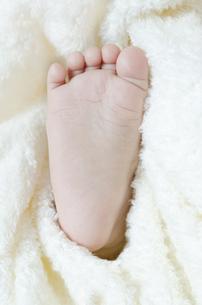赤ちゃんの足裏の素材 [FYI00115239]