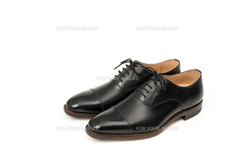 男性用の黒い革靴の写真素材 [FYI00115249]