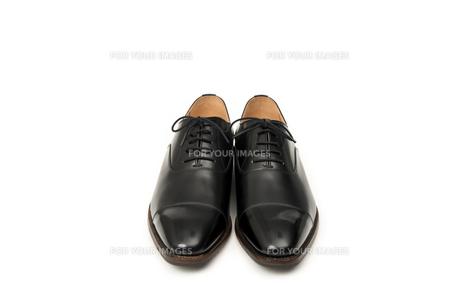 男性用の黒い革靴の写真素材 [FYI00115254]